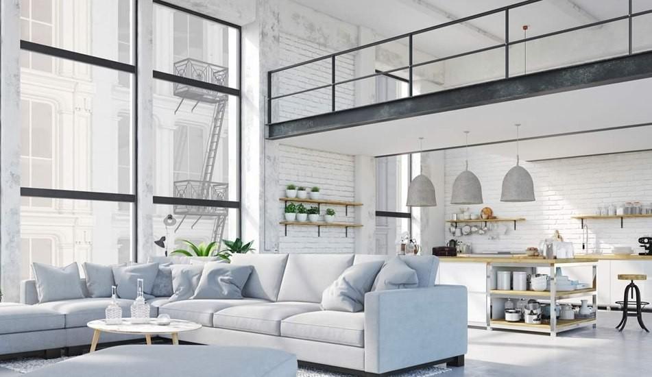 Co charakteryzuje wnętrza w stylu loftowym?