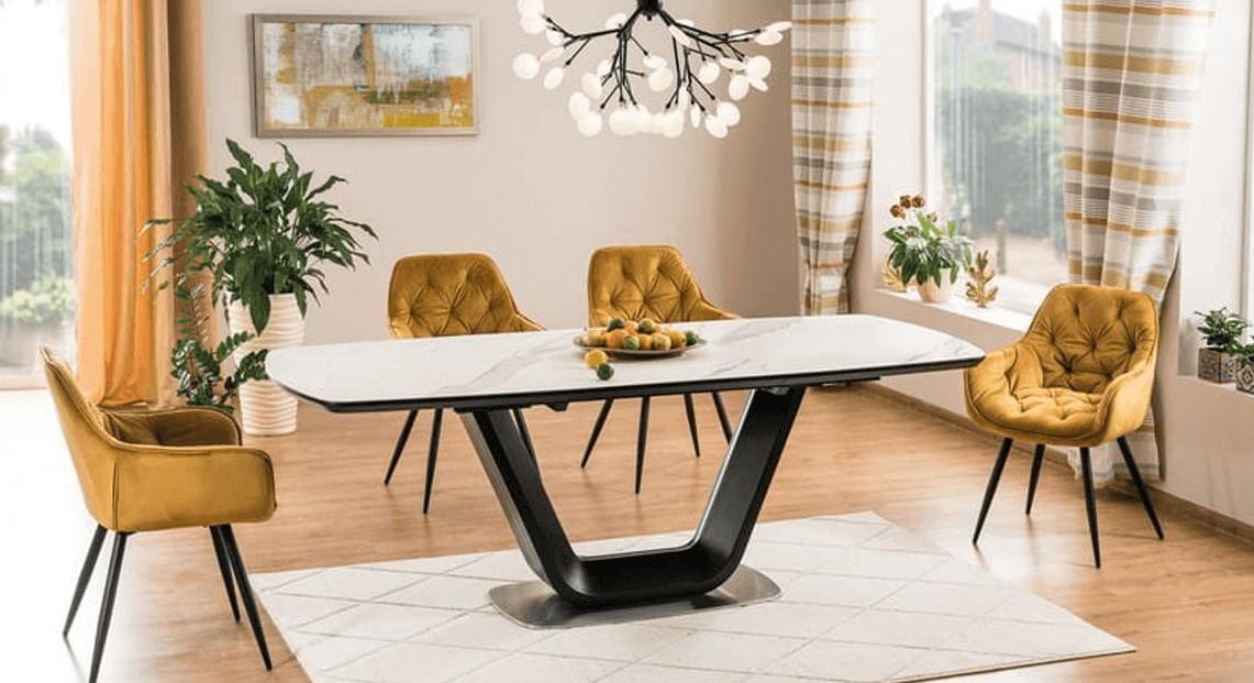Tapicerowane, drewniane czy plastikowe  – jakie krzesła do jadalni wybrać?