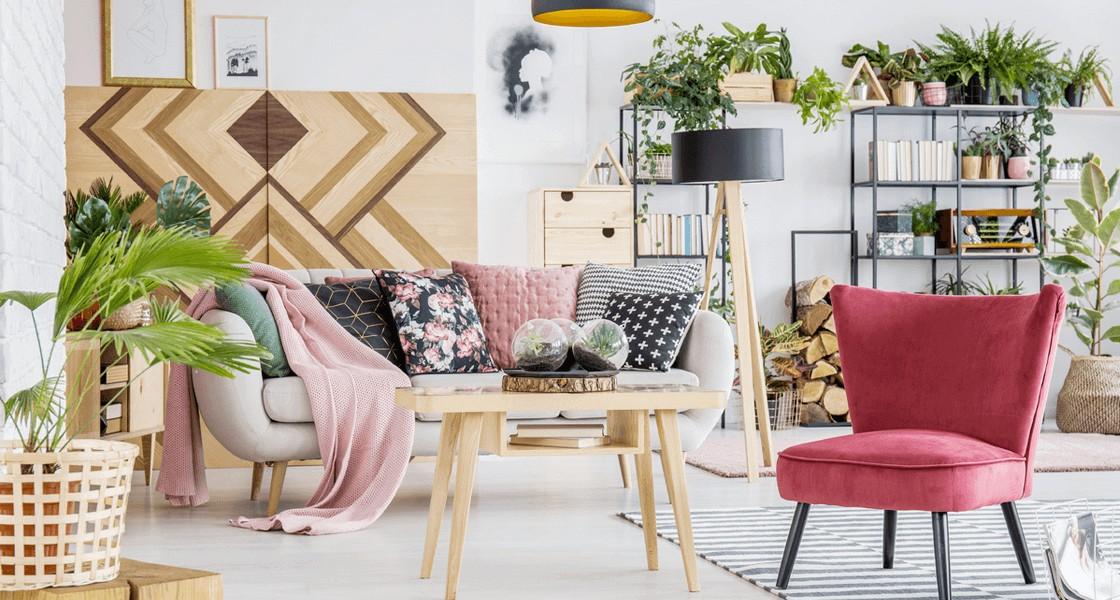 Wiosenne wnętrza – pomysły na metamorfozę Twojego salonu